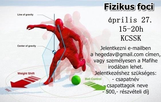 EHB Feszt - Fizikus foci
